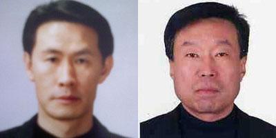 ▲ (왼쪽부터) 김남일, 노영환
