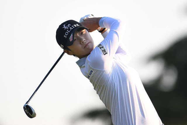 ▲ ONEIDA, WISCONSIN - JULY 06: Sung Hyun Park of the Republic of Korea hits her tee shot on the 16th hole during the third round of the Thornberry Creek LPGA Classic at Thornberry Creek at Oneida on July 06, 2019 in Oneida, Wisconsin.   Stacy Revere/Getty Images/AFP == FOR NEWSPAPERS, INTERNET, TELCOS & TELEVISION USE ONLY ==   <All rights reserved by Yonhap News Agency>