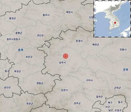 ▲ 지진 발생 위치