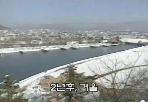 ▲ 드라마 '첫사랑'에 나오는 옛 춘천모습