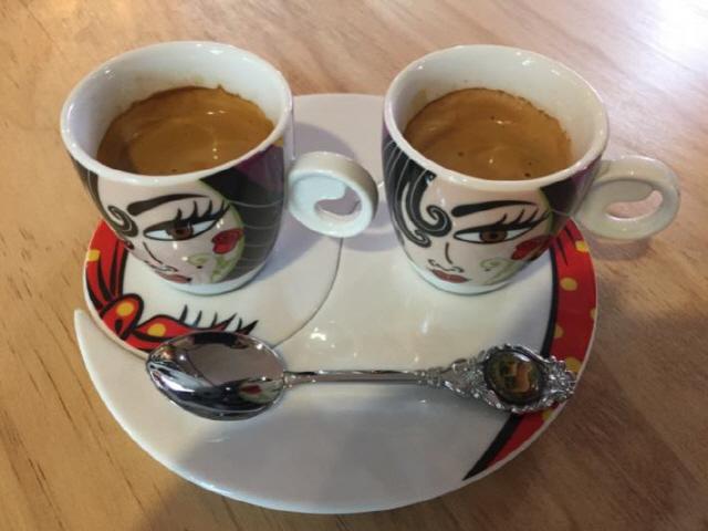 ▲ 에스프레소 커피.
