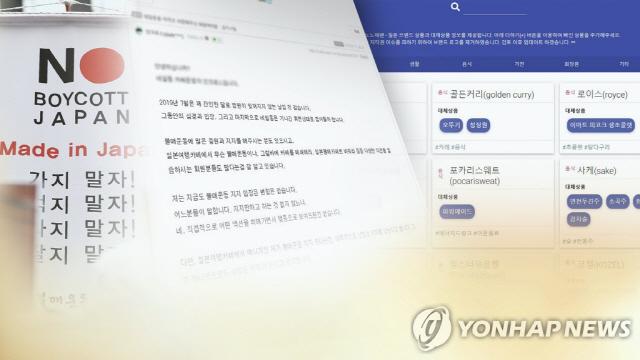 ▲ '노노재팬'  사이트 .  연합뉴스