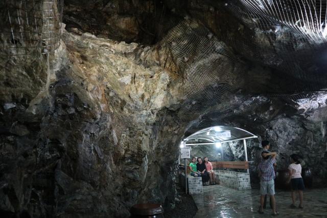 춘천의 명물, 옥체험동굴