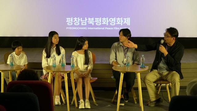 ▲ 평창남북평화영화제 기간 진행된 '메이드 인 강원' 스페셜 토크 모습.