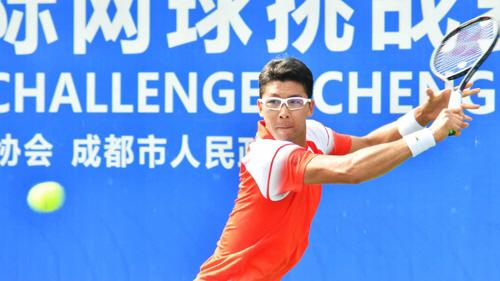 ▲ 정현, 복귀전 청두 챌린저 테니스 우승