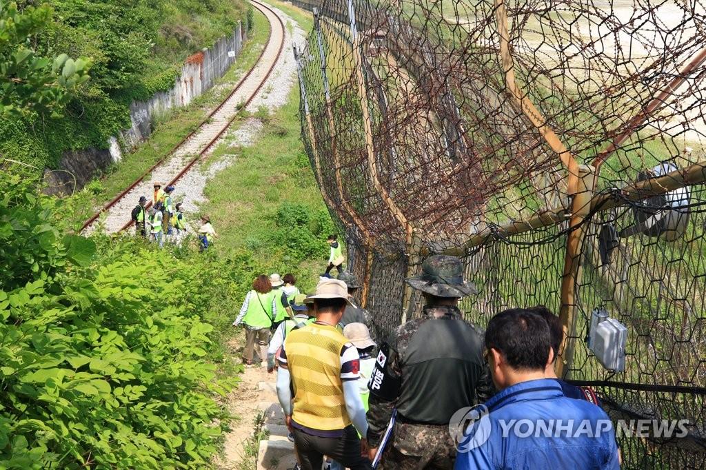 ▲ 고성 DMZ평화의 길