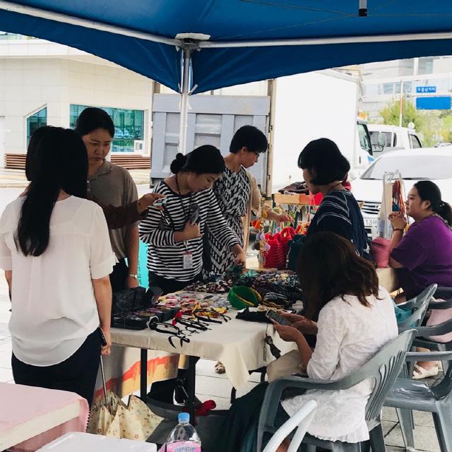 ▲ 사회적경제&이전 공공기관이 함께하는 생생마켓이 9일 국민건강보험공단에서 열렸다.