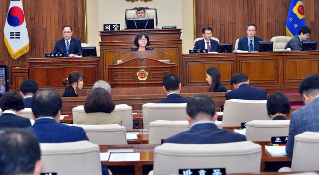 ▲ 강원도의회 제 284회 임시회가 10일 제2차 본회의를 끝으로 폐회했다.  서영