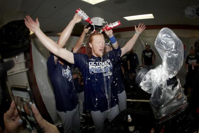 ▲ 미국프로야구(MLB) 로스앤젤레스 다저스가 7년 연속 지구 1위로 메이저리그 포스트시즌에 진출했다.