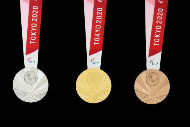 ▲ 2020년 도쿄하계패럴림픽(장애인올림픽)에서 선수들에게 수여하는 공식 메달이 전범기(욱일기)를 연상케 해 논란이다.대한장애인체육회는 국제패럴림픽위원회(IPC)에 정식 항의하고 메달 디자인 교체를 요구하기로 했다. 2019.8.28 [도쿄패럴림픽 조직위원회 홈페이지 캡처]