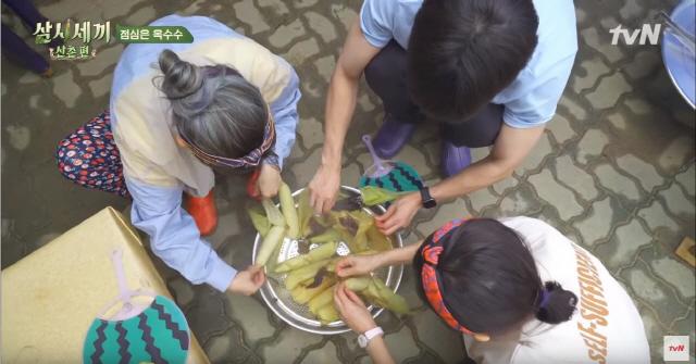 ▲ 자급자족 유기농 라이프 삼시세끼 산촌편의 한 장면 [tvN 제공]