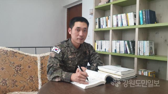 ▲ 육군 21사단 유인상 병장.