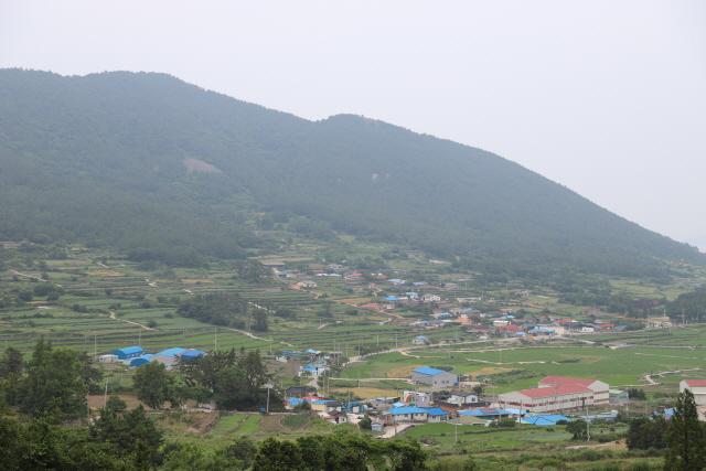 ▲ 2014년 우리최초로 세계중요농업유산으로 등재된 전남 청산도 마을