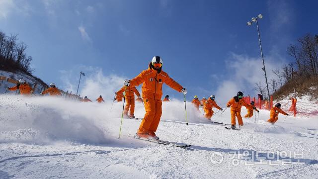 ▲ 하이원 스키장은 올 겨울시즌 다양한 스키아카데미 프로그램을 운영한다.