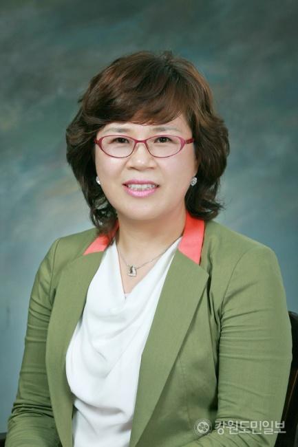 ▲ 양홍춘(57) 신임 강원여성경영인협회장