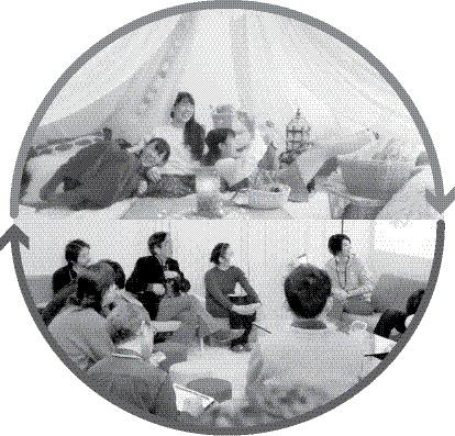 ▲ 스페이스마켓을 통해 대여한 공간에서는 커뮤니티 교류,세미나,코스프레 촬영회,파티 등 다양한 목적의 행사와 모임이 이뤄진다.