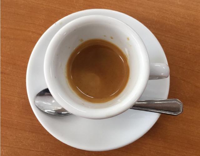 ▲ 에스프레소 커피
