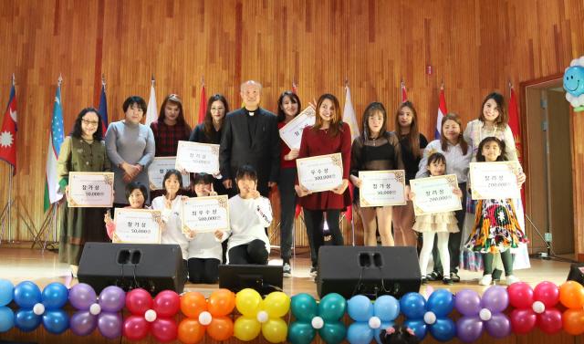 ▲ 삼척지역 다문화 주민들을 위한 축제인 세계야 놀자! 글로벌 페스티벌이 지난 23일 청소년수련관에서 열렸다.