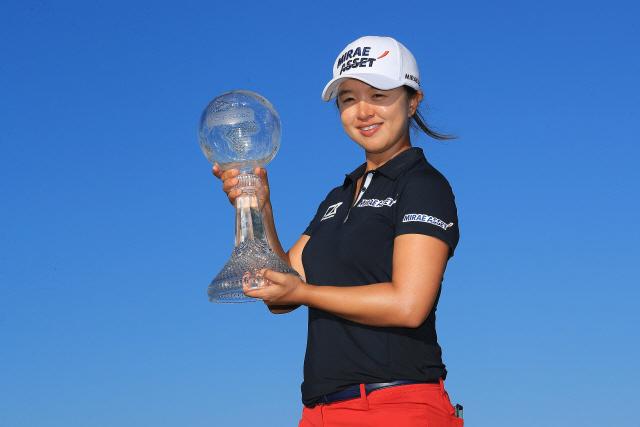 ▲ 김세영(26)이 미국여자프로골프(LPGA) 투어 2019시즌 최종전 CME 그룹 투어 챔피언십(총상금 500만달러) 우승을 차지했다.