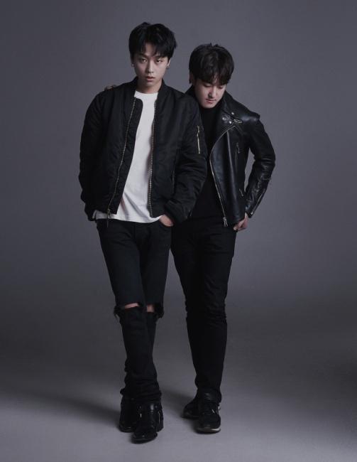 ▲ 밴드 리카드 멤버 김슬옹(사진 왼쪽)과 조후찬