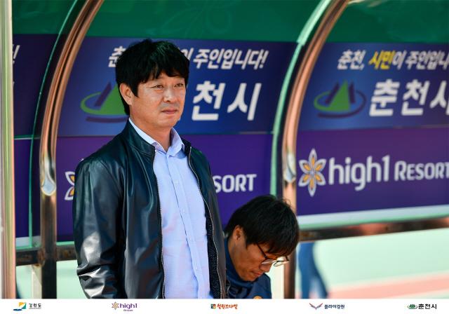 ▲ 강원FC와 재계약한 김병수 감독.