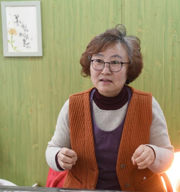 ▲ 박은정 춘천 맛이 예쁜 집 대표가최근 본지와 인터뷰를 가졌다.  최유진