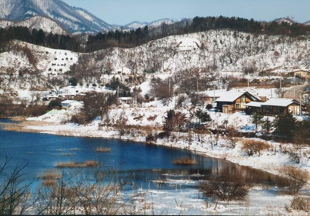 ▲ 횡성호수길의 겨울. (사진 정연태)