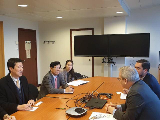 ▲ 김한근 시장은 지난 13일 유네스코 본부를 방문,올해 ICCN(국제무형문화도시연합) 총회 강릉 개최에 따른 협력 방안을 논의했다.