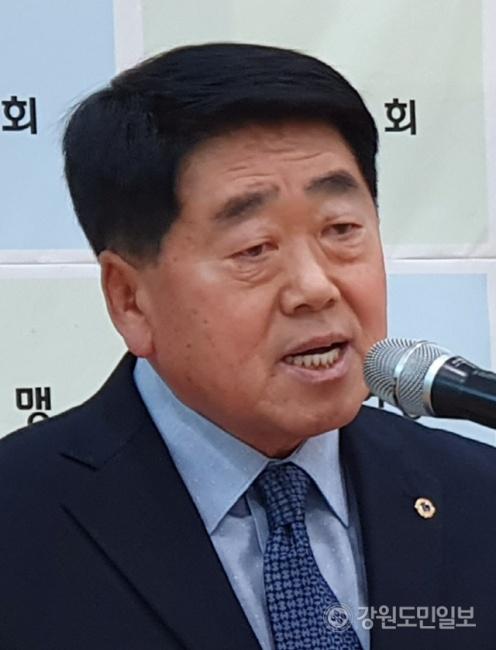 ▲ 박상록 홍천군 체육회장 당선인
