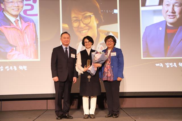 ▲ 박선남 대표는 지난해 올해의 아너상을 수상했다.