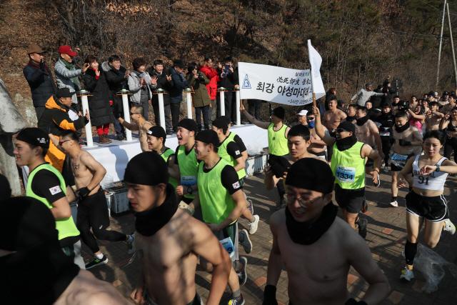 ▲ 제8회 철원 한탄강 얼음트레킹 축제가 지난 18일 개막,오는 27일까지 10일간의 일정에 들어갔다.