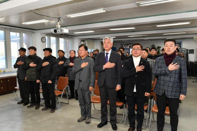 ▲ '사북민주항쟁 40주년 기념행사추진위원회 발족식'이 21일 정선 사북읍 뿌리관에서 열렸다.