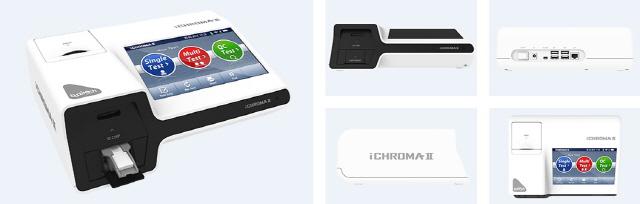 ▲ ichroma ™ II 자동반자동 체외 진단 장치