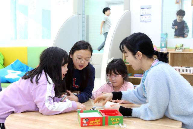 ▲ 다함께 돌봄센터가 지역 아이들에게 다양한 학습공간을 제공하고 있다.