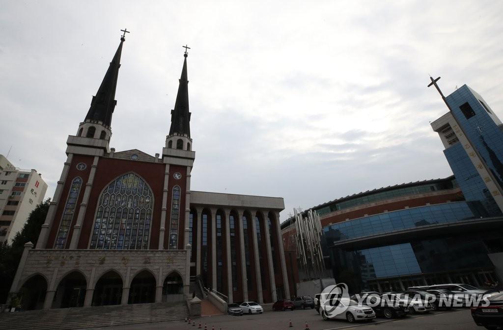▲ 서울 명성교회 전경