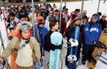 개막된 스키시즌