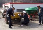 평창경찰서 농기계 야광반사판 달아주기