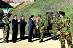 양구 통합방위협 노도·백두산 부대 위문