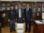 철원 재향군인회 도서 기증