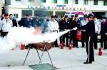 양구경찰서 소방훈련