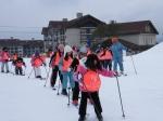 정선 사음초교 스키학교 교실