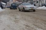 도로 늑장 제설 시민 분통
