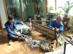 평창 대화면 노인회 전통 생활용품 제작 판매