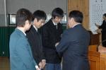 영월고교 졸업식