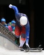 스켈레톤 윤성빈 월드컵 7차 동메달