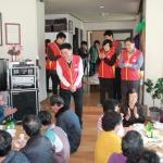 정선우체국 행복나눔 무료급식 봉사활동