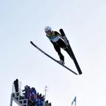 세계 스키점프 별들 평창 하늘 '반짝 반짝'