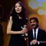 김민희, 한국 배우 첫 베를린영화제 여우주연상