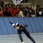 아시안게임 이상화, 또 고다이라에게 석패…500m 은메달
