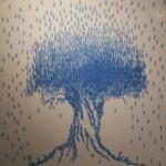 나뭇잎이 만든 '나무'